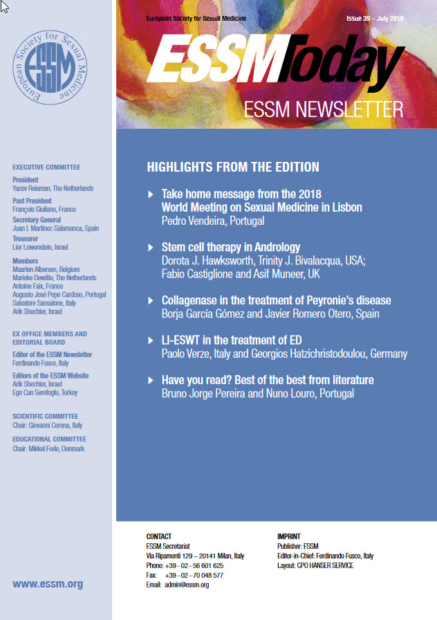 ESSM Today – The Scientific Newsletter
